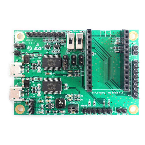 ESP Production Testing Board with 2 High-Speed Serial Ports - ESP-FactoryTB1 - Espressif