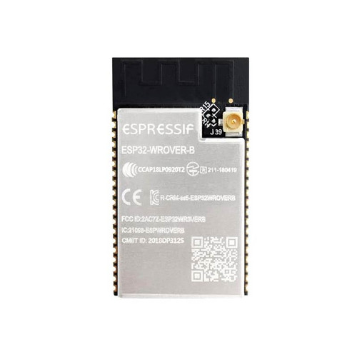 Dual-core Wi-Fi Dual-mode Bluetooth Module 8MB Flash IPEX Connector - ESP32-WROVER-IB (8MB) - Espressif