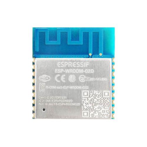 Single-core 2.4GHz Wi-Fi Module 4MB Flash PCB Antenna - ESP-WROOM-02D (4MB) - Espressif