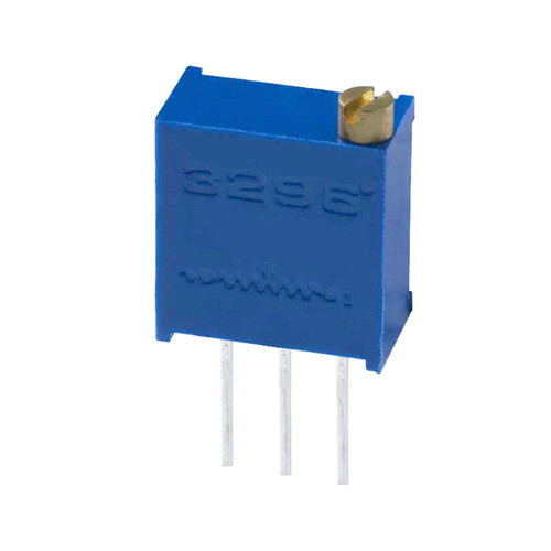 100K 0.5W 10% Multiturn Trimpot Trimming Potentiometer Through-hole - 3296W-1-104LF - Bonens
