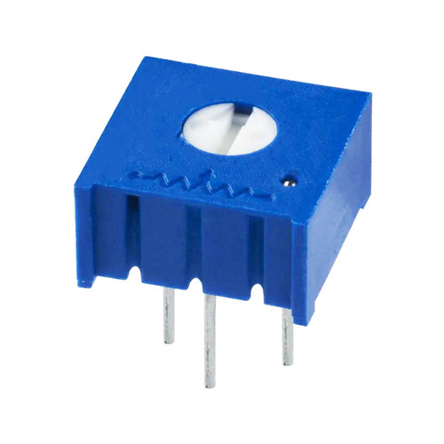 100K 0.5W 10% 1-turn Trimpot Trimming Potentiometer Through-hole - 3386P-1-104LF - Bonens