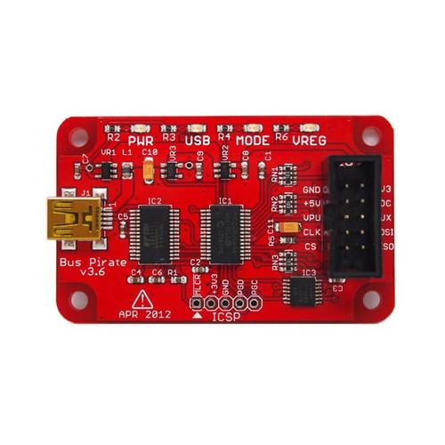 Bus Pirate v3.6 Universal Serial Interface - SeeedStudio - 102990038