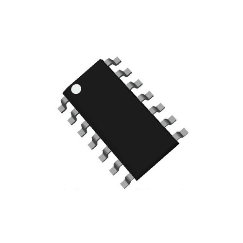 SN74ABT125DR - Quadruple Bus Buffer Gate 3-State Output SMD SOIC-14 - Texas Instruments