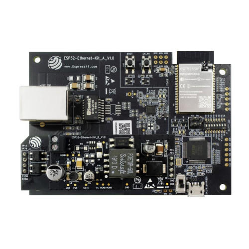 ESP32-ETHERNET-KIT - ESP32 Ethernet Bluetooth Wi-Fi Development Board - Espressif