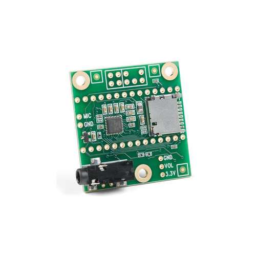 DEV-15421 - Teensy Audio Adaptor SGTL5000 Stereo Codec Development Board - SparkFun