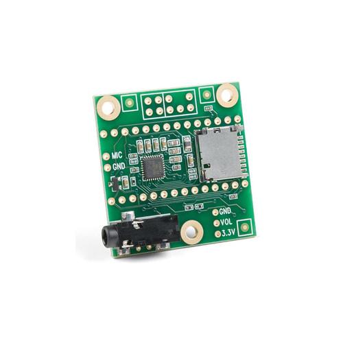 DEV-15421 - Teensy Audio Adaptor SGTL5000 Stereo Codec Development Board - SparkFun