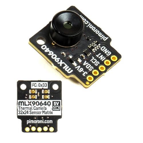 PIM366 - MLX90640 Thermal Far-Infrared Camera Breakout Wide Angle - Pimoroni