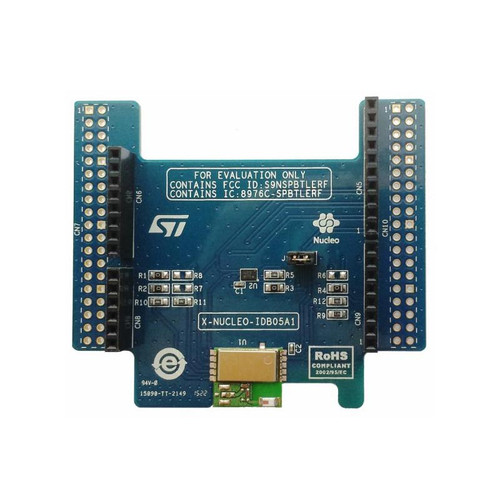 X-NUCLEO-IDB05A1 - SPBTLE-RF STM32 Nucleo BLE Bluetooth Low Energy Expansion Board - STMicroelectronics