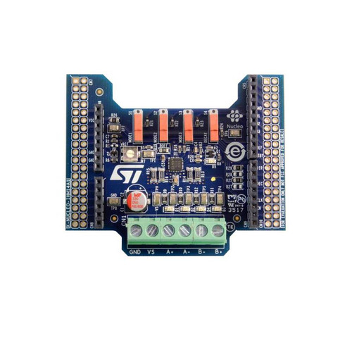X-NUCLEO-IHM14A1 - STSPIN820 STM32 Nucleo Stepper Motor Driver Expansion Board - STMicroelectronics