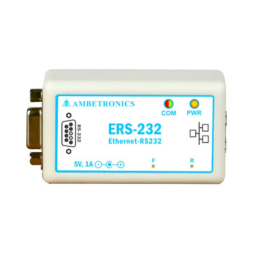 ERS-232 - RS-232 to Ethernet Converter - Ambetronics