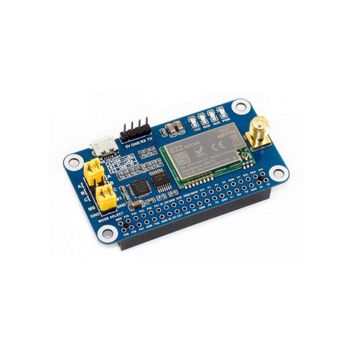16806 - SX1262 868MHz LoRa HAT for Raspberry Pi for Europe, Asia, Africa - Waveshare