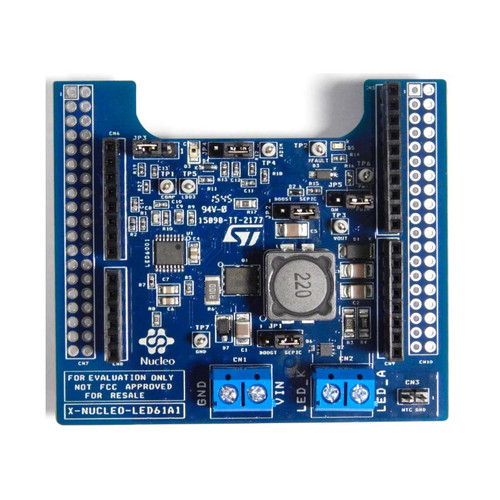 X-NUCLEO-LED61A1 - STM32 Nucleo LED6001 DC-DC LED Driver Expansion Board  - STMicroelectronics