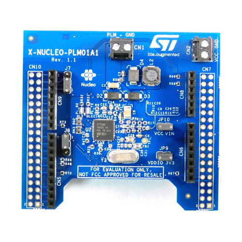 X-NUCLEO-PLM01A1 - STM32 Nucleo ST7580 Power Line Communication Expansion Board - STMicroelectronics