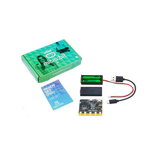 MB158-US - BBC micro:bit go: Pocket-sized Codeable Computer Kit - BBC micro:bit