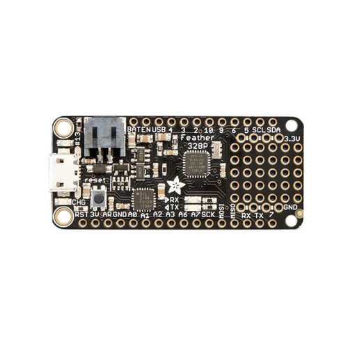 3458 - Feather 328P - Atmega328P 3.3V 8MHz Development Board - Adafruit