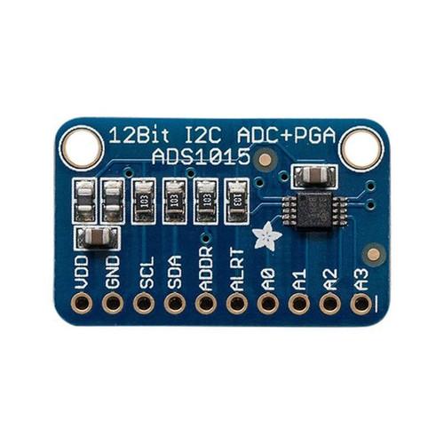 1083 - ADS1015 12-Bit ADC - 4 Channel Programmable Gain Amplifier - Adafruit