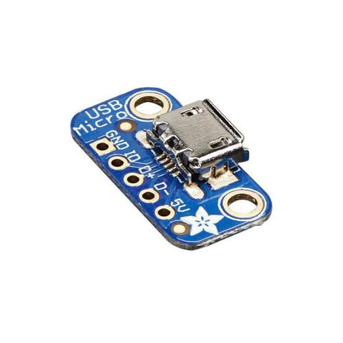 1833 - USB Micro-B Breakout Board - Adafruit