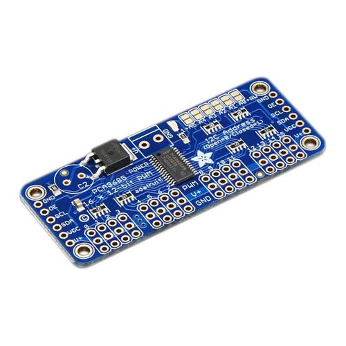 815 - 16-Channel 12-bit PWM/Servo Driver - I2C interface - PCA9685 - Adafruit