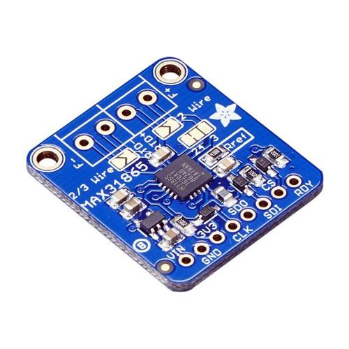 3328 - PT100 RTD Temperature Sensor Amplifier - MAX31865 - Adafruit