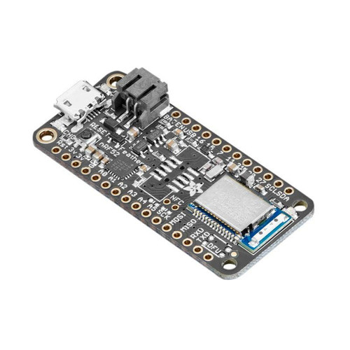 3406 - Feather nRF52 Bluefruit LE  nRF52832 ARM Cortex M4F - Adafruit