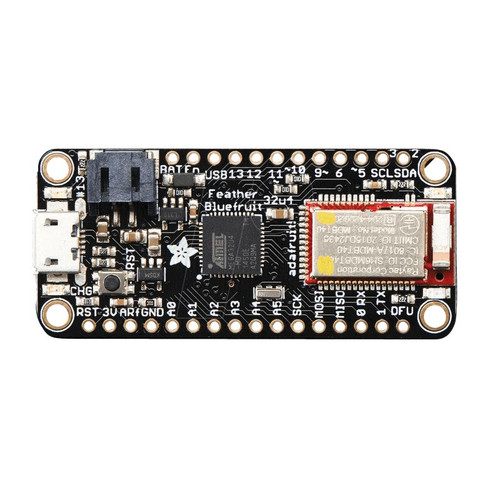 2829 - Feather 32u4 Bluefruit LE ATmega32u4 Bluetooth BLE - Adafruit