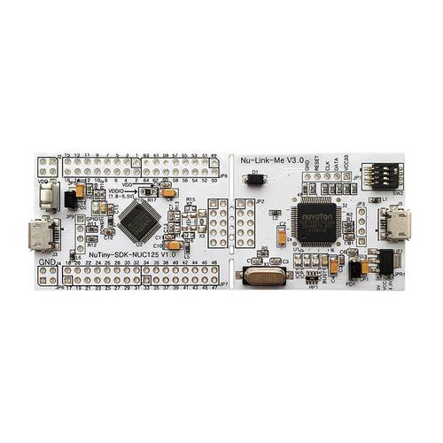 NT-NUC125S - NuTiny-NUC125S  NuMicro NUC125 Series ARM Cortex-M0 Development Board - Nuvoton