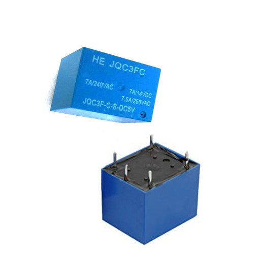 5V 7A 5Pin Miniature High Power Relay SPDT PCB Mount
