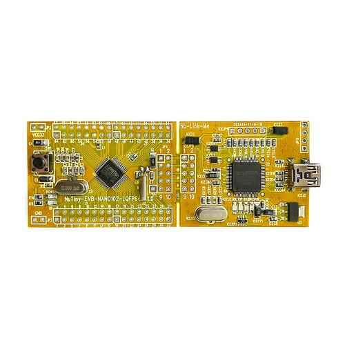 NT-NANO102S - NuTiny-Nano102S  NuMicro Nano102 Series ARM Cortex-M0 Development Board - Nuvoton