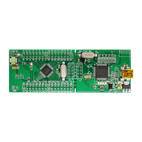NT-M058SF - NuTiny-M058SF  NuMicro M058S Series ARM Cortex-M0 Development Board - Nuvoton