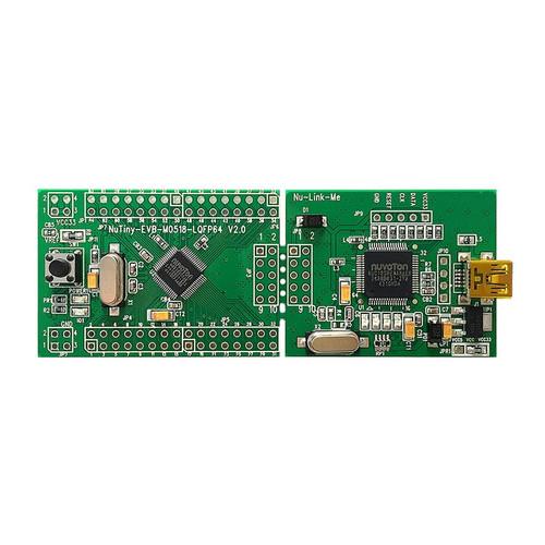 NT-M0518S - NuTiny-M0518S NuMicro M0518 Series ARM Cortex-M Development Board - Nuvoton