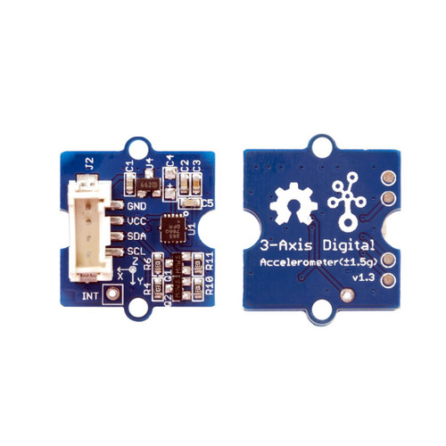 101020747 - Grove - 3-Axis Digital Accelerometer(+-1.5g) (GD) - Seeed Studio