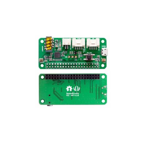 107100001 - ReSpeaker 2-Mics Pi HAT - Seeed Studio