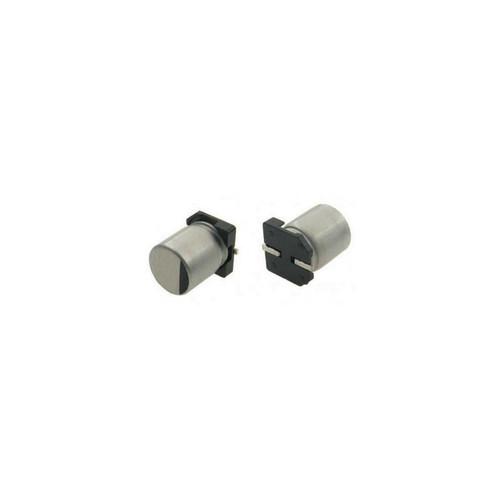 SC1E337M10010VR - 330uF 25V 20% 10X10mm Chip Type Aluminum Electrolytic Capacitor SMT - Samwha