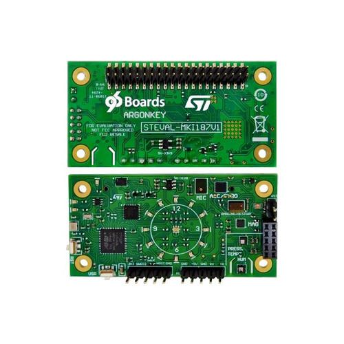 STEVAL-MKI187V1 - ArgonKey Mezzanine 96Boards HiKey LeMaker ST Sensors Board - STMicroelectronics