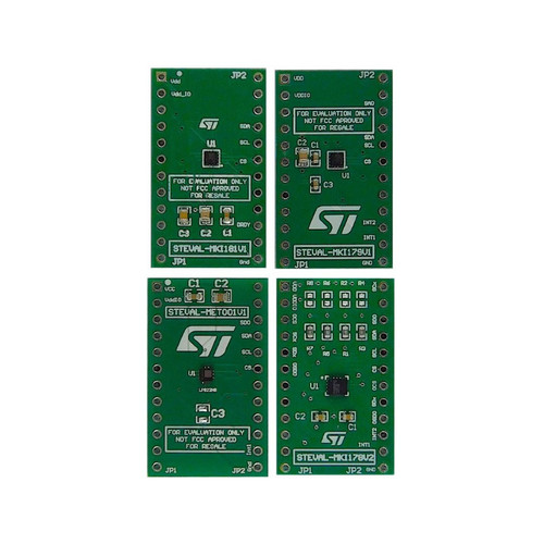 STEVAL-MKIT01V1 - MEMS Sensor Sample Evaluation Kit - STMicroelectronics