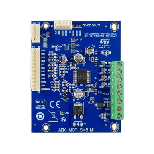 AEK-MOT-SM81M1 - L99SM81V Stepper Motor Driver Evaluation Board - STMicroelectronics
