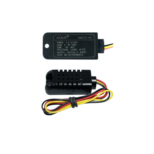 AM2311A - 5.5V -40~80C 1-Wire Mounted Temperature Humidity Sensor with Communication Line - Aosong ASAIR