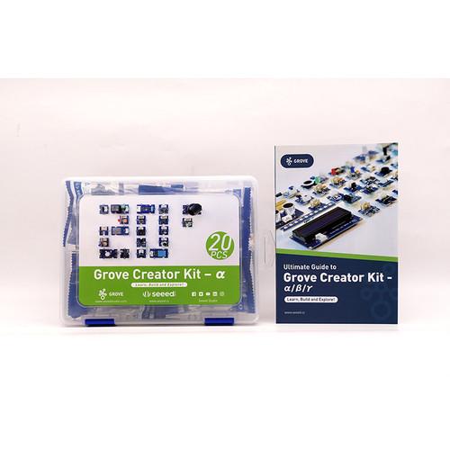 110020228 - Grove Creator Kit - Alpha (20 Modules in 1 Box) - Seeed Studio