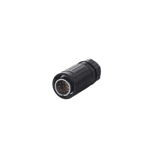 YA-20-C09PE-01-001 - YA-20 Series 9-Pin Male Plug IP67 Waterproof Power Connector - Linko Electric