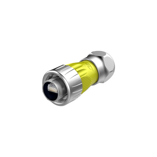 DH-24-C/RJ45/015/PE-43-001 - DH24-RJ45 Series RJ45 Male Plug IP67 Waterproof Signal Connector - Linko Electric