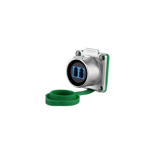 LP-24-J/LC/213/SX-43-401 - LP24 Series Female Socket LC Type IP67 Waterproof Fibre Optic Connector - Linko Electric