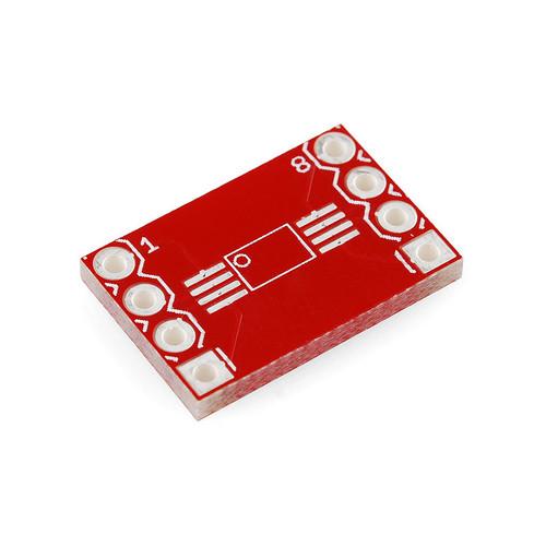 BOB-00497 - SSOP-DIP Adapter Board 8-Pin SparkFun
