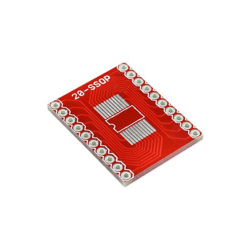 BOB-00499 - SSOP-DIP Adapter Board 20-Pin SparkFun