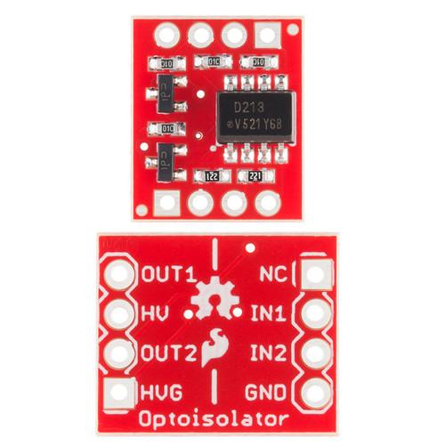 BOB-09118 - Opto-isolator Breakout SparkFun