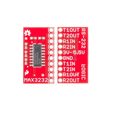 BOB-11189 - MAX3232 Transceiver Breakout SparkFun