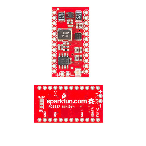 BOB-11420 - MiniGen Signal Generator Shield (for Arduino Pro Mini) SparkFun