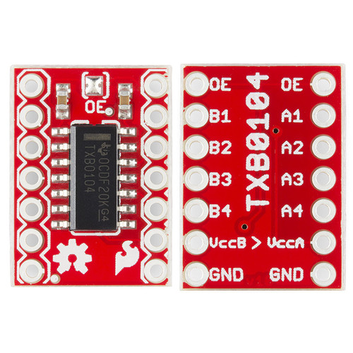 BOB-11771 - TXB0104 Voltage-Level Translator Breakout SparkFun