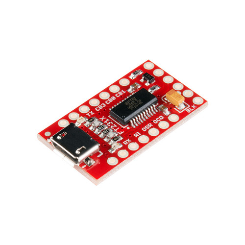 BOB-13263 - FT231X UART Breakout MicroUSB Jack SparkFun
