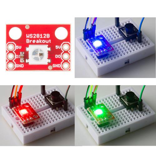 BOB-13282 - WS2812B NeoPixel RGB LED Breakout SparkFun