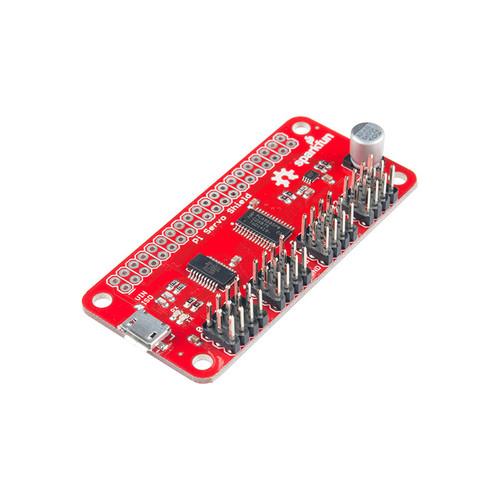 DEV-14328 - Raspberry Pi Servo HAT PWM I2C SparkFun